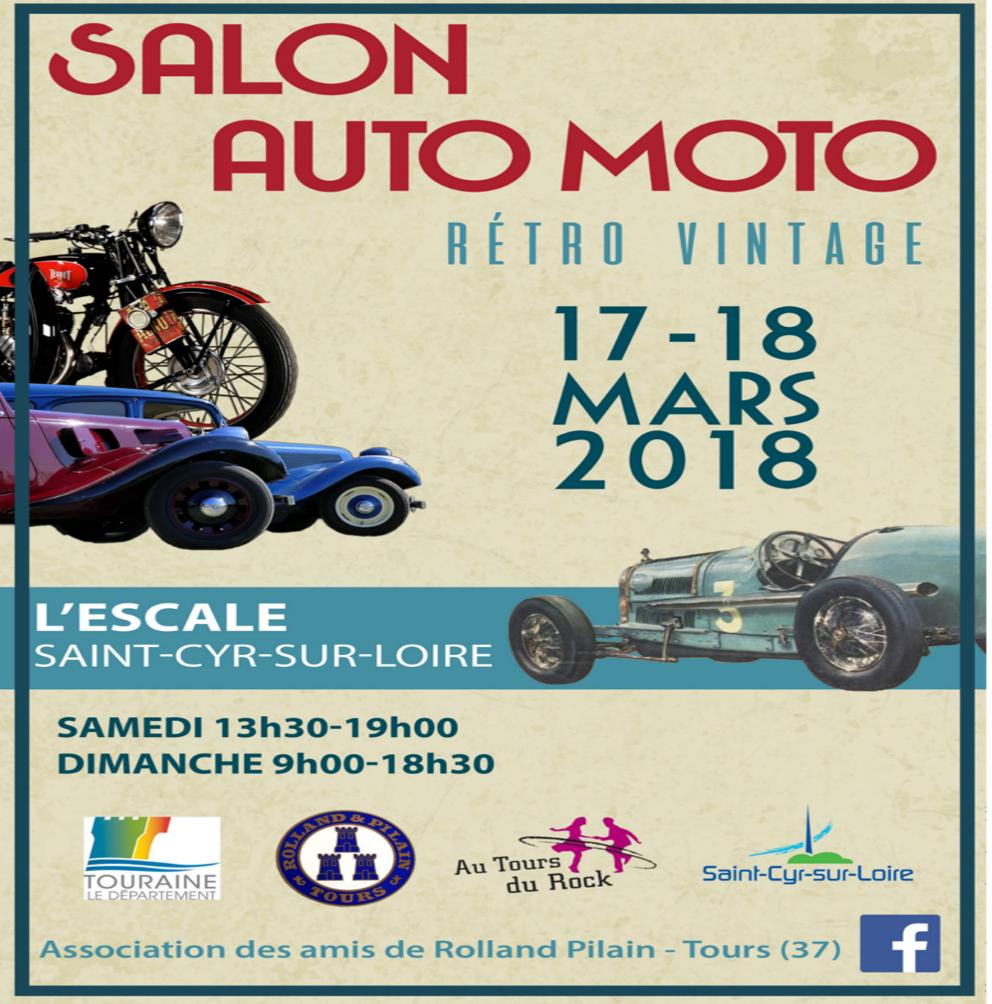 Affiche salon escale auto moto37